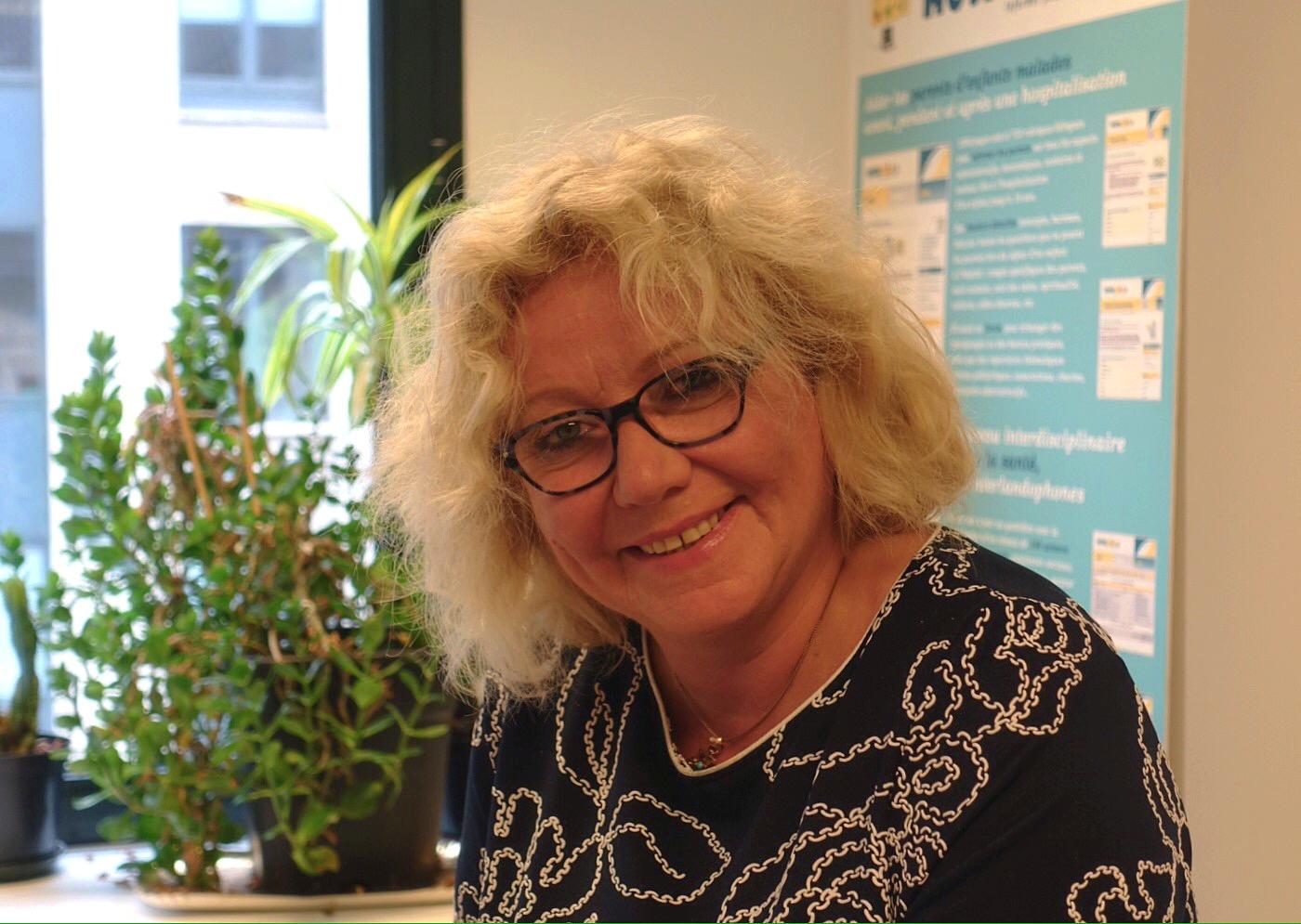 Emmanuelle Van Besien, coordinatrice Hospichild