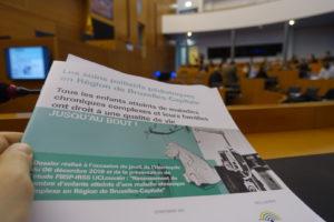 Soins palliatifs pédiatriques en question au Parlement Francophone Bruxellois